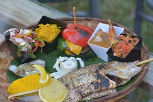 Nativ Lodge Mauritius - Local Mauritian dish with ingredients